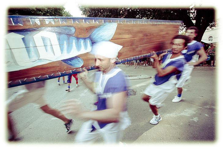 Medieval Boat Race